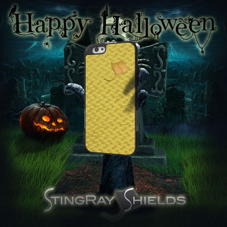 Cell phone radiation is scary!  TREAT yourself to StingRay Shields!!  And have a safe and fun Halloween weekend!  www.stingrayshields.com