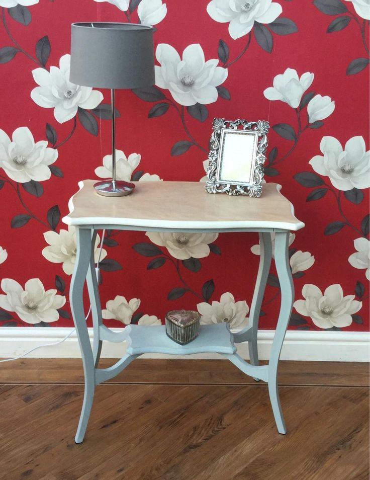 Solid Oak table // Shabby Chic