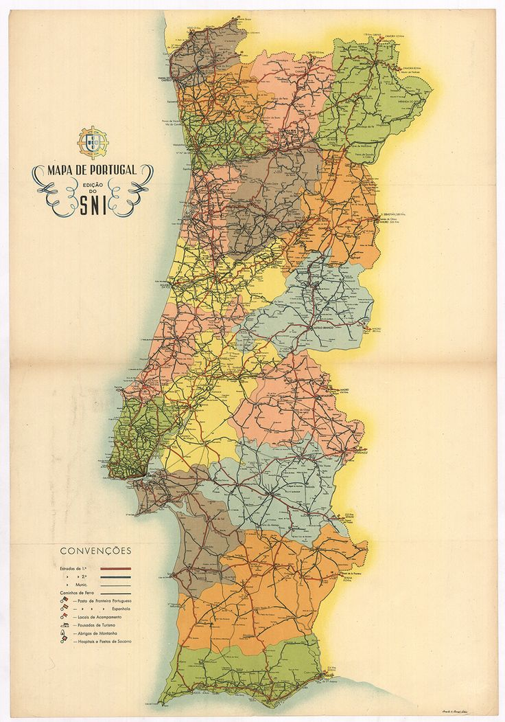 Old Maps Portugal Stamps Antique Maps Stamping
