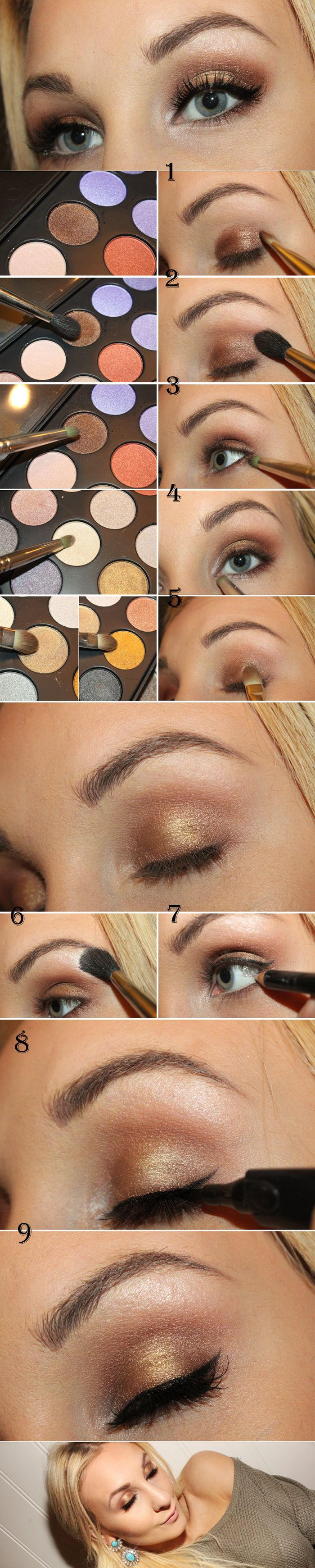 Perfect christmas makeup (hit link for text)