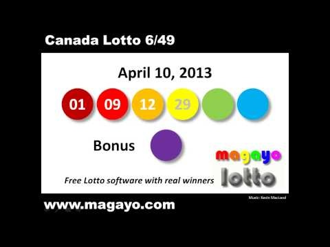 Latest Lottery Results Canada
