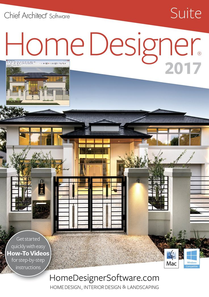 Home Designer Suite 2017 PC