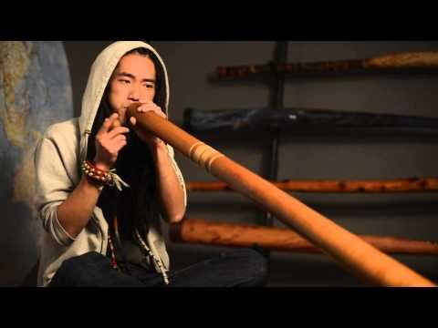 Koji Matsumoto - Flute Style Didgeridoo Freestyle