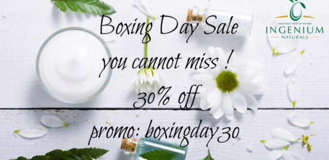 Boxing Day specials. Spoil YOURSELF today! – theskinurein
