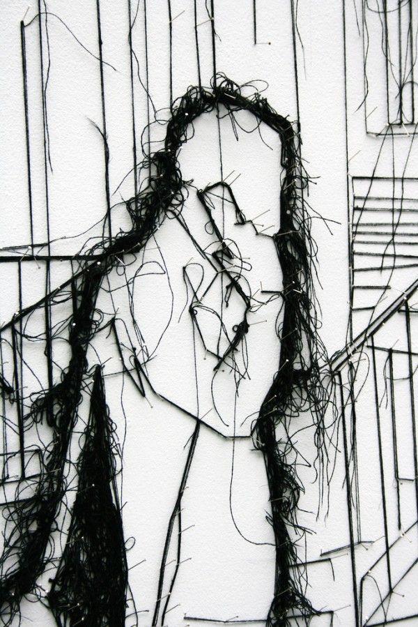 Pin and Thread Illustrations | Debbie Smyth