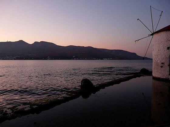 View from Leros island    Όμορφη θέα από το νερόμυλο στην Αγία Μαρίνα στο νησί της Λέρου  #aegean #island #Leros #watermill #mill #water #walk #nature #environment #sea #city #marine #sky #blue #pintrplaces #place #Λέρος #νησί http://my.aegean.gr/web/article3163.html