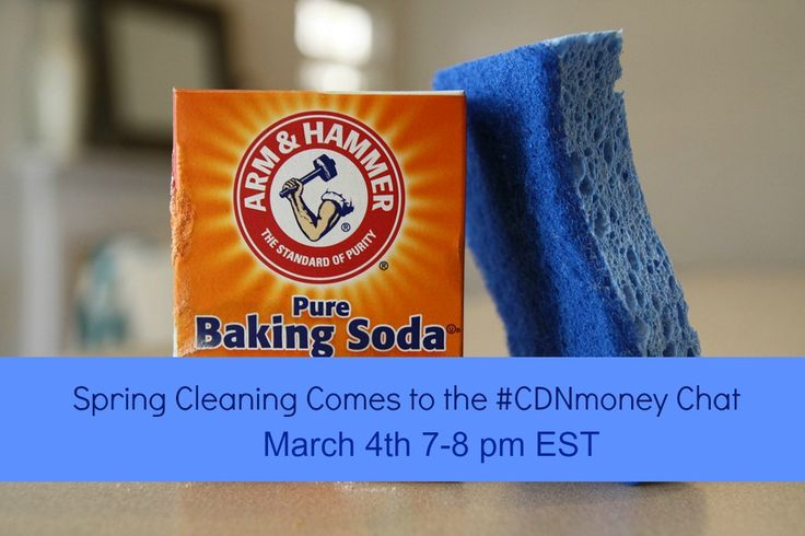 Join us for a lively chat + PRIZES when spring cleaning comes to #cdnmoney chat on Tues 7-8pmET with @Hollie Pollard + @Christa Clips: Save-at-Home-Mom
