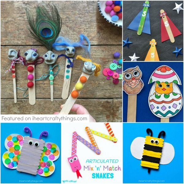 Try making one of these crafts this weekend for your sponsor child. // World Help    kids crafts, child sponsorship, rainy day fun, craft sticks