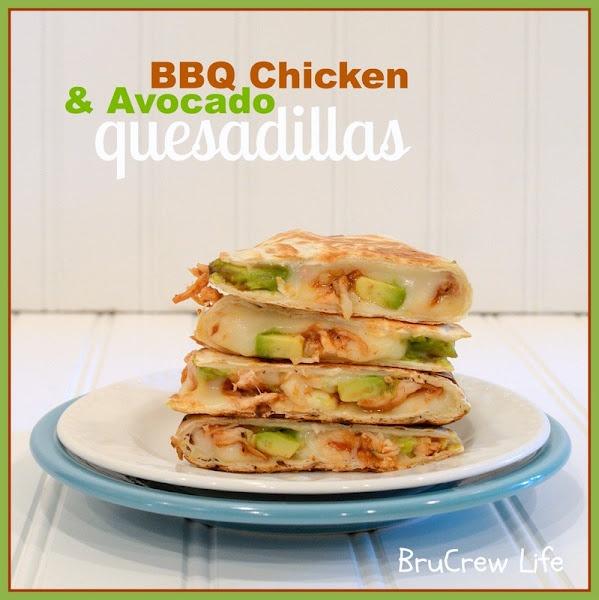 bbq chicken & avocado quesadillas: Fun Recipes, Avocado Quesadia, Bbq Sauces, Bbq Chicken, Dinners, Tasti Recipes, Savory Recipes, Chicken Avocado, Avocado Quesadillas