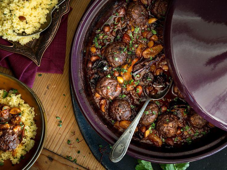 Marokkanische Tajine Mit Fleischbällchen