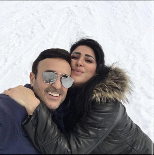 Icymi زوجة صابر الرباعي تحتفل به على الثلج صورة Mirrored Sunglasses Sunglasses Glasses