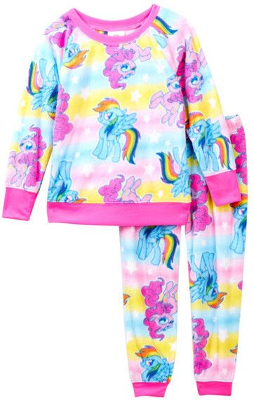 AME My Little Pony Minky Pajama Set (Little Girls & Big Girls)