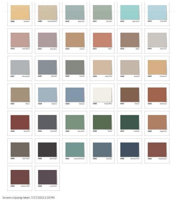 Seal-Krete Epoxy Floor Colors