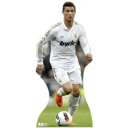 Christiana Ronaldo Cardboard Cutout Cardboard Cutout N175  Height: 180cms - 6ft approx