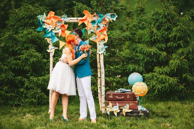 На большом воздушном шаре. Или как свадебный фотограф и видеограф увидели свой самый счастливый день : 55 сообщений : Отчёты о свадьбах на Невеста.info