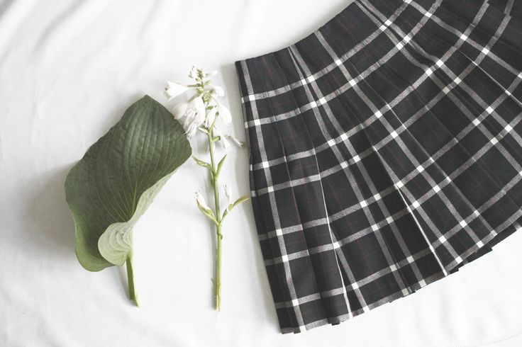 Plaid skirt by Alice + Olivia