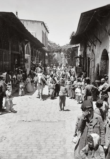 In Straight Street: #Damascus #Syria 1900-1920