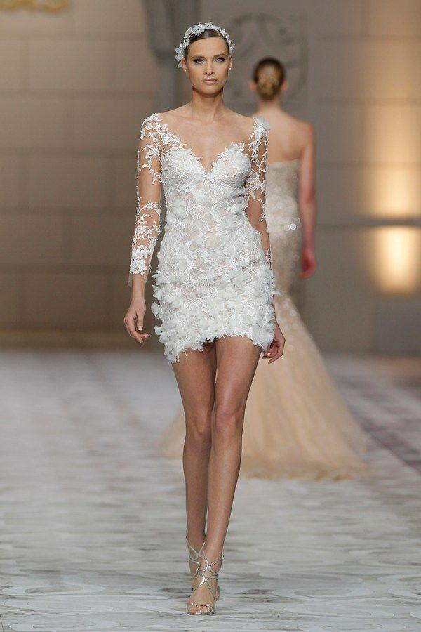 1349 best images about Short Wedding Dresses on Pinterest ...