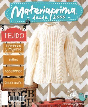 Revista Materiaprima Tejido N°154 Accesorios  Niños  Decoración