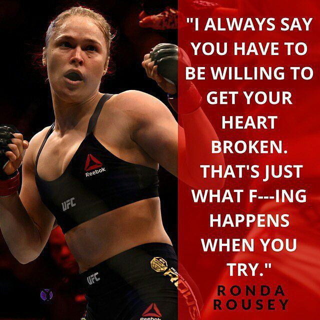 @Regrann from @espn -  A stunning loss left Ronda Rousey down but not out.  Link to her full interview in bio. #Regrann