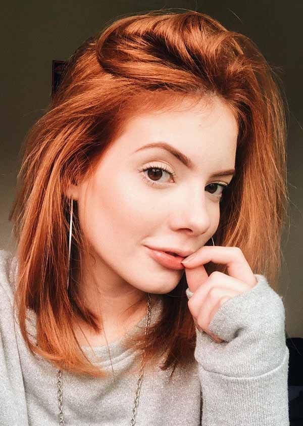 19 Easy Simple Cute Short Hair Styles For Women You Should Try Now Ginger Hair Color Short Red Hair Ginger Hair