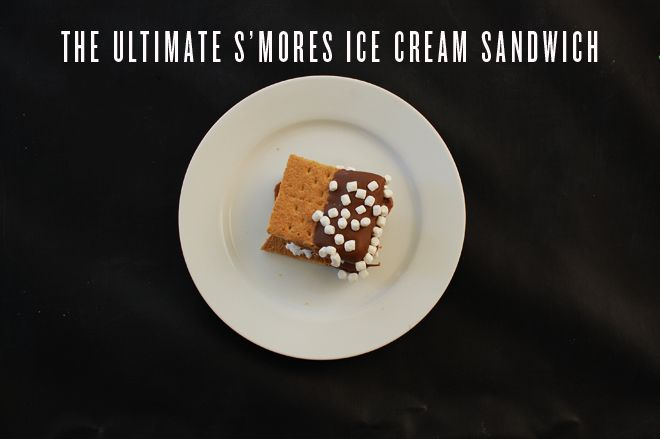 the ultimate s'mores ice cream sandwich: Marshmallows Bit, Ultimate Smore, Major Nom Nom, Ice Cream Sandwiches, Sweet Treats, S More Sandwiches, S More Ice, Sweet Tooth, Smore Ice