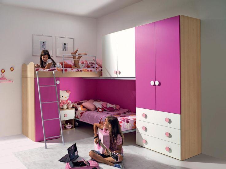 Le camerette per ragazzi e ragazze Girotondo offrono soluzioni d ...