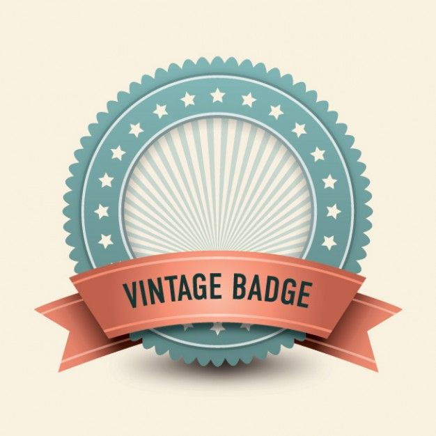 vintage badge | Download free Vector