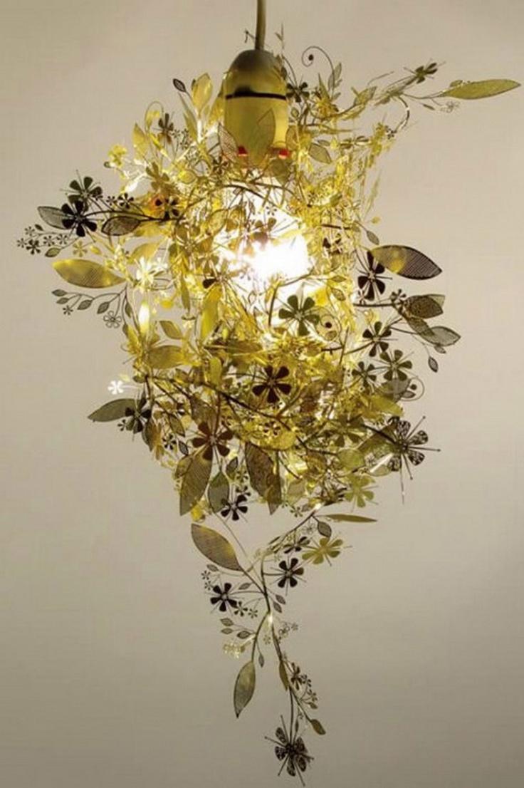 Tord Boontje U0027Garlandu0027 Light Shade In Gold Metal