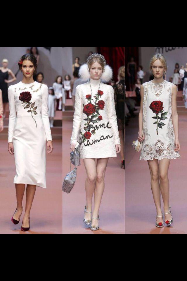 Dolce Gabbana simplesmente  abriu as portas do romantismo e charme!