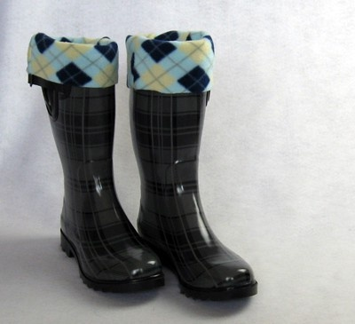 Rain boot insertsBootsocks, Fleece Boots, Sewing Projects, Free Pattern, Socks Tutorials, Boots Socks, Boot Socks, Socks Pattern, Boots Liner
