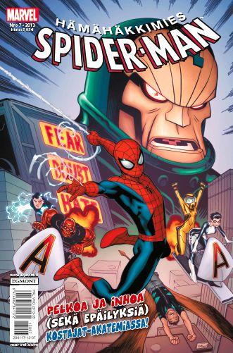 Hämähäkkimies - Spider-Man nro 7/2013. #sarjakuva #sarjakuvalehti #sarjis #egmont #marvel