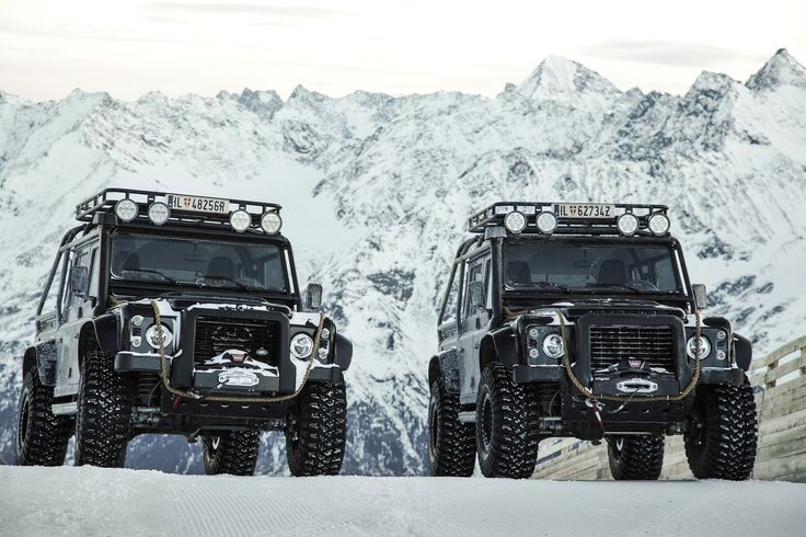 Land Rover Defender 110 from SPECTRE.