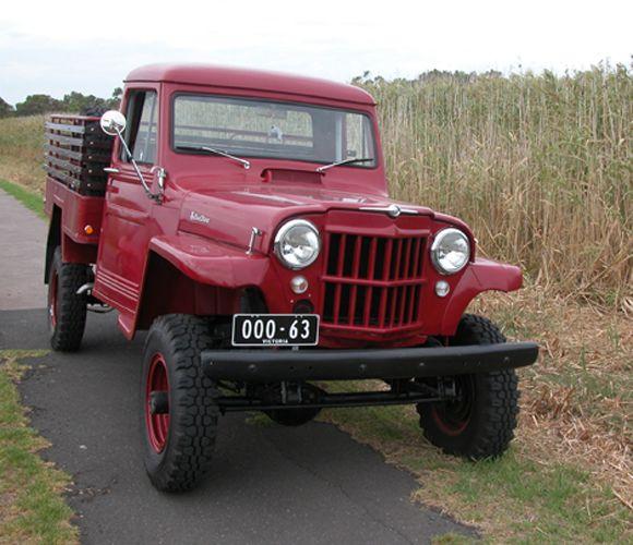 Mark Dawson 1963 Willys Truck 4