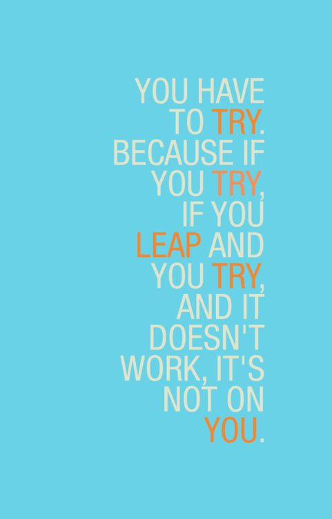 Scandal most truly quote...so keep trying cause at the end of the day if all this lil things doesnt work its not because of YOU!!