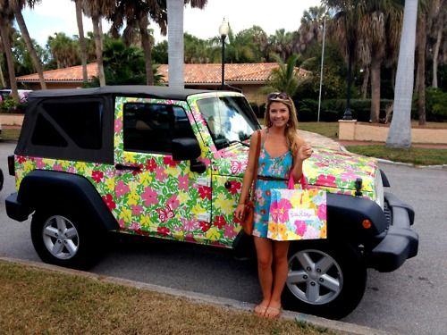 The lilly jeep