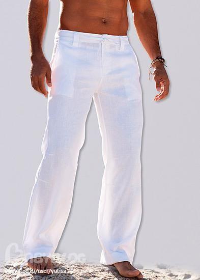 Куплю мужские льняные штаны