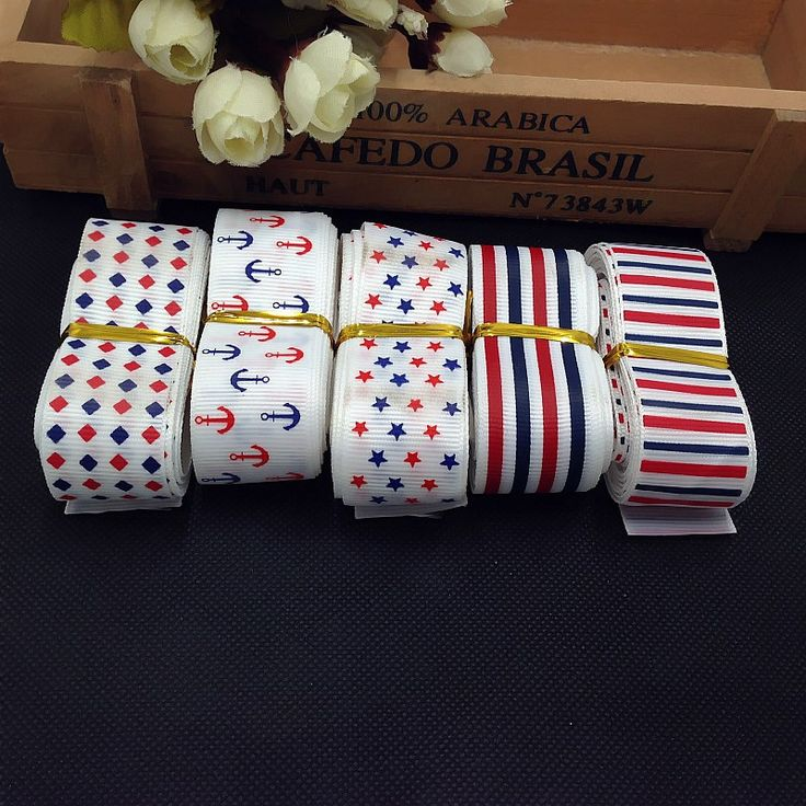 25mm British style 5 yards stripe printed Ribbon Wedding Party Birthday Cake Festive Decoration Crafts Gifts Wrapping Supplies #Affiliate
