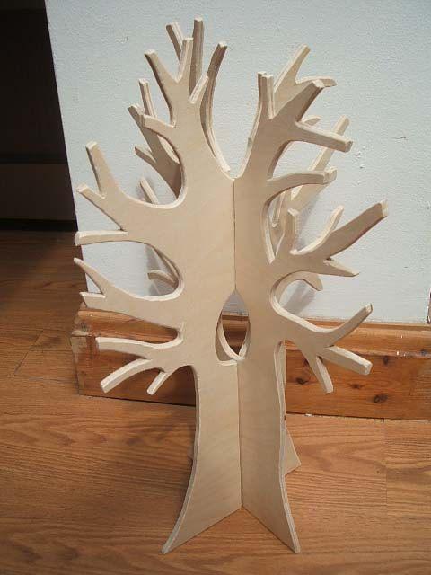 Waldorf Steiner Inspired Wooden Slot In 3d Seasonal Tree