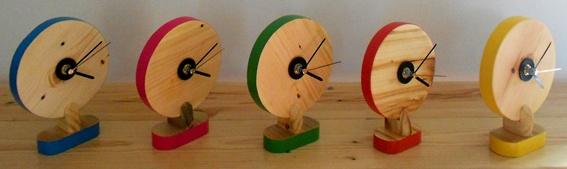 Retro desk clocks | jasper and george