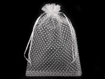 Organza Gift Bag 165x245 mm Polka Dots