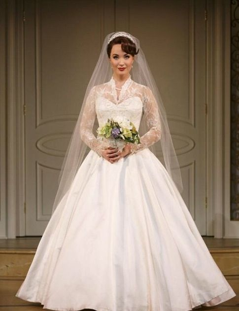 Sierra Boggess as Rebecca in It Shoulda Been You on Broadway...I just love that dress!!