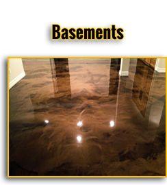 Garage Basements And Epoxy Floor Paint On Pinterest