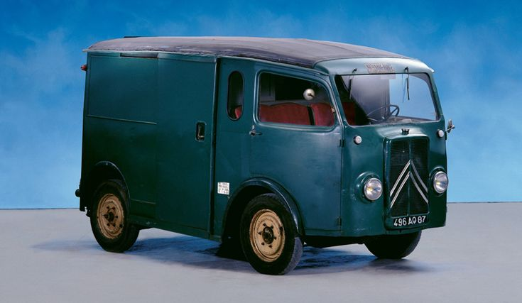 1937 Citroën TUB van with front wheel drive