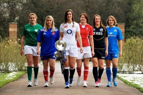 Capitaines équipes Tournoi VI Nations féminin rugby 2013