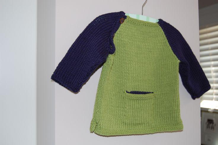 Ravelry: stripespolkadots, детка бейсбол свитер II