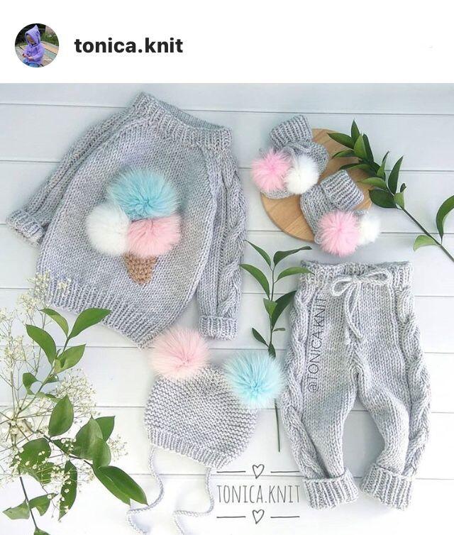 Pin By Nadia Omelchenko On вязаная одежда детям детское вязание