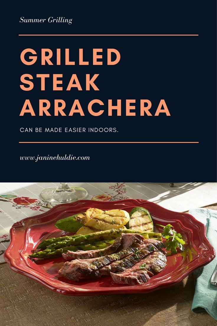 Grilled Steak Arrachera Recipe