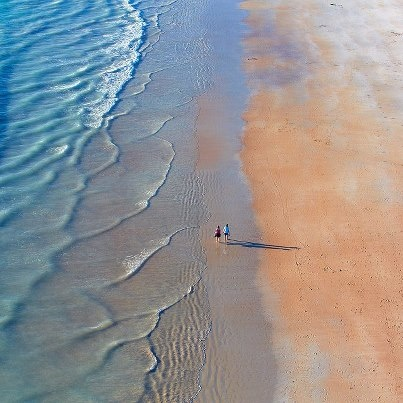 Pastel colours of Cable Beach - Broome - Western Australia - I've actually been here, it it is just as outstanding as any picture you see