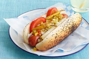 Chicago-Style Dogs recipe  (I grew up in Chicago on the real deal, they're hard to find in Dallas.)